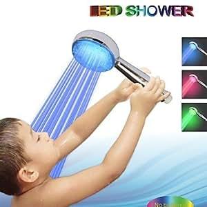 FL Hand Shower Contemporary LED A Grade ABS Chrome