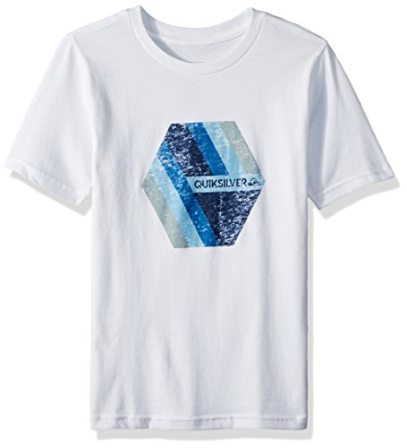 Quiksilver Big Boys' Retro Right Youth Tee Shirt, White, M/12 by Quiksilver