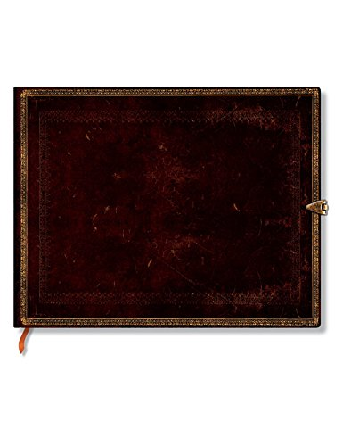 - Black Moroccan Guest Book Journal: Unlined (Old Leather Collection)