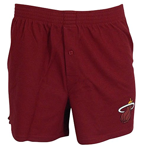 Fan Heat Miami (Concepts Sport Miami Heat NBA Men's Boxer Shorts Large 36-38)