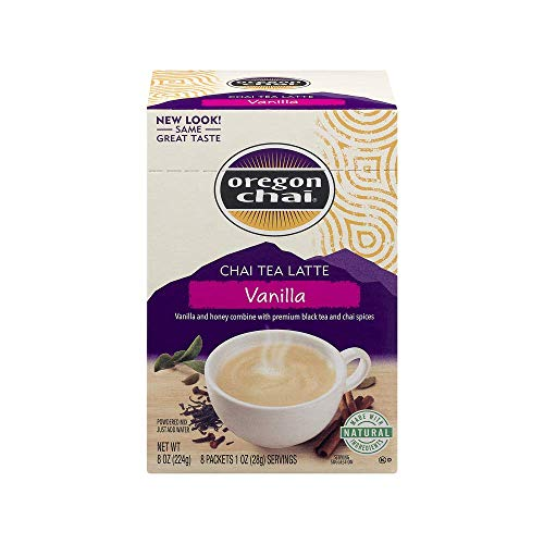 - Oregon Chai Vanilla Chai Tea Latte - 8 Ounce