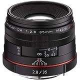 Pentax K-Mount HD DA 35mm f/2.8 Macro 35-35mm Fixed Lens for Pentax KAF Cameras (Limited Black)
