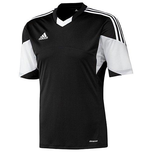 Adidas Mens Climacool Tiro 13 Short Sleeve Jersey Large Black/White (Adidas Tiro 13)