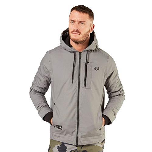 Fox Head Men's Fleece Lined Jacket, Pewter, 2X (Fox Jackets For Men)