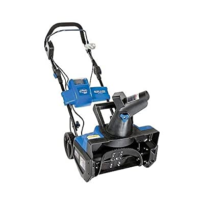 Snow Joe ION18SB iON Cordless Electric Snow Blower, Single Stage, Rechargeable 40-Volt Battery