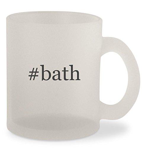 Bath   Hashtag Frosted 10Oz Glass Coffee Cup Mug