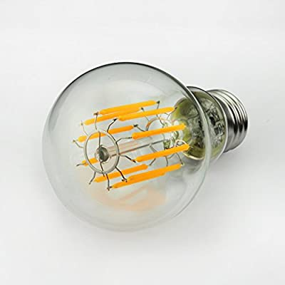 GEZEE 10W Edison Style Vintage LED Filament Light Bulb,100W Incandescent Replacement,1000LM, E26 Medium Base Lamp, A19(A60) Antique Shape, Clear Glass Cover,Dimmable