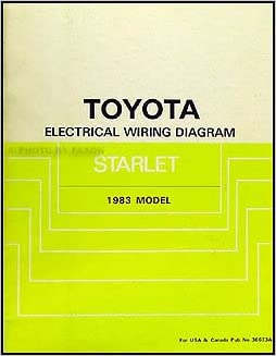 Appealing toyota starlet wiring diagram ideas best image wire 1983 toyota starlet wiring diagram manual original toyota amazon asfbconference2016 Choice Image