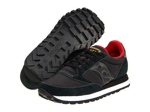 (サッカニー) SAUCONY メンズスニーカーカジュアルシューズ靴 Jazz Original Black/Red 8.5 26.5cm D - Medium [並行輸入品] B06XY4RFWH