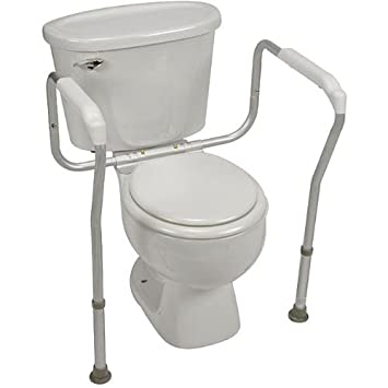 Amazon.com: Adjustable Toilet Safety Rail: Health & Personal Care