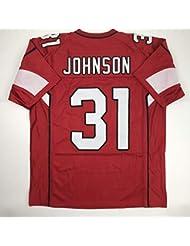 Unsigned David Johnson Arizona Red Custom Stitched Football Jersey Size Men's XL New No Brands/Logos