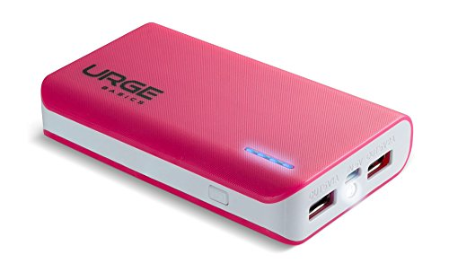 URGE Basics External Battery Pack for Universal - Retail Packaging - Pink - Urge Basics Portable Power