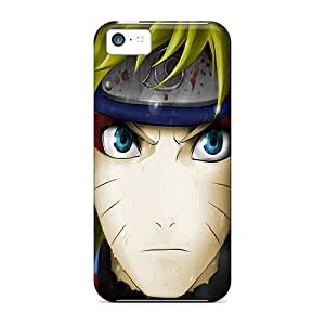 New Customized Design Naruto Uzumaki Being Stern For Iphone 5c Cases Comfortable For Lovers And Friends For Christmas Gifts