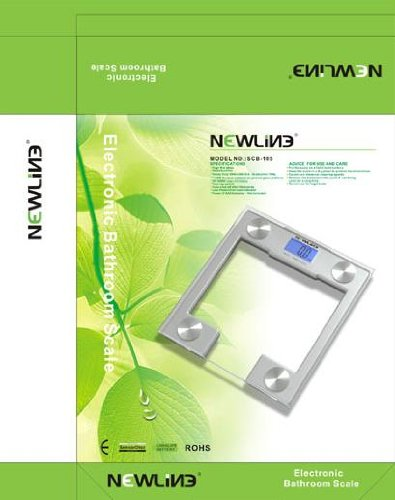 NewlineNY Newline SCB - 105 Newline Digital Talking Bathroom Scale, 440 Pound Capacity by NewlineNY