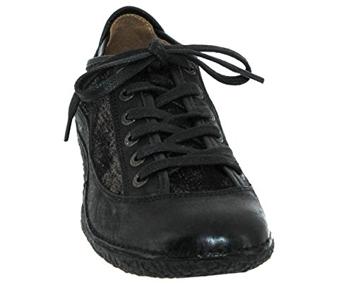419956508 Hollyday Black Shiny Kickers Trainers 1R4Hqtwt