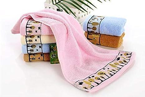 a8269e534b Amazon.com: Fiber Towel 6pcs 25 50cm Children Face Towel Fast Drying ...