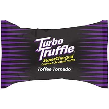 Turbo Truffle Caffeinated Energy Chocolate - Toffee flavor - 100-pak