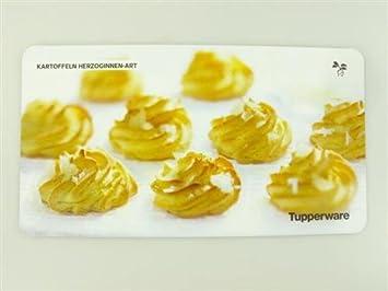 Ricetta Meringhe Tupperware.Tupperware Rezeptkarte Kartoffeln Herzoginnen Art Ricetta In Tedesco Amazon It Casa E Cucina