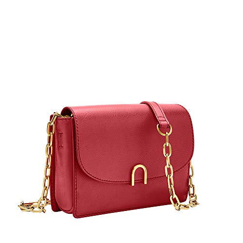(Fossil Ronnie Mini Bag Poppy Red, One Size)