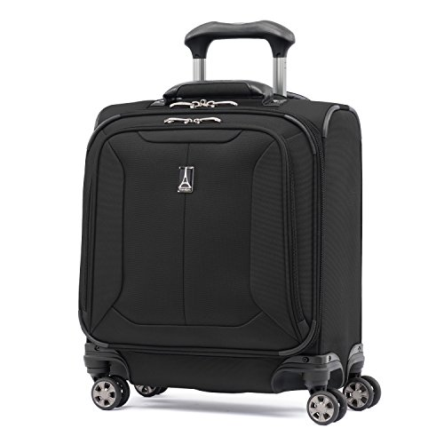 Travelpro Skypro Lite 17'' Expandable 8-Wheel Carry On Spinner Compact Boarding Bag (Black) by Travelpro