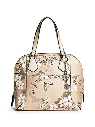 GUESS Factory Women's Cadwell Floral Dome Satchel