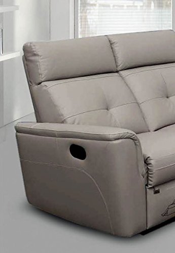ESF 8501 Recliner Sofa Chic Light Grey ...