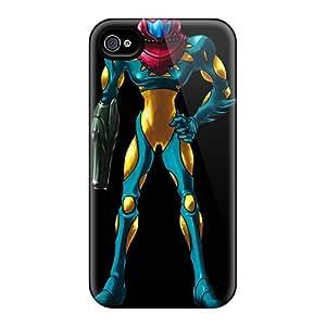 Tpu Mialisabblake Shockproof Scratcheproof Samus Mf Suit Hard Case Cover For Iphone 4/4s