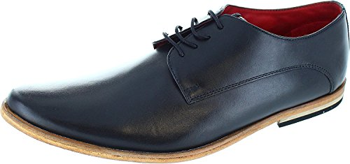 Informal London Brown Range Leather Formal Black Mens of Base and Derby and Derby Brogue Black Oxford UPS Lace qwdxzgSnpg