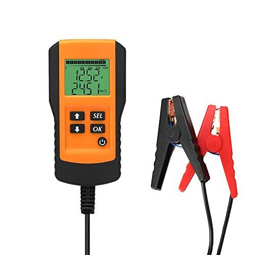 Sla Analyzer Battery 12v Capacity - Automotive battery tester,12V Car Battery Tester, battery life analyzer, battery current capacity tester, analyzer of Battery Life Percentage,Voltage, Resistance and CCA Value for Flood, Gel, AGM,