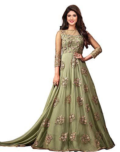 Royal Export Women's net Dress Material