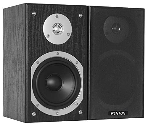Fenton SHFB55B Boekenplank Speakers 280 Watt 5 Inch