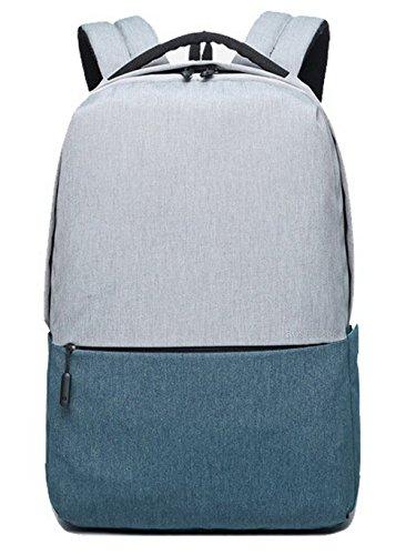 École Sacs AgooLar Sacs Zippers à dos à GMBBB181659 Voyage Bleu Daypack Bleu Femme bandoulière r0wqBr