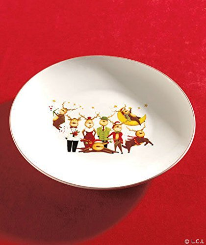Reindeer Christmas Holiday Serving Platter]()