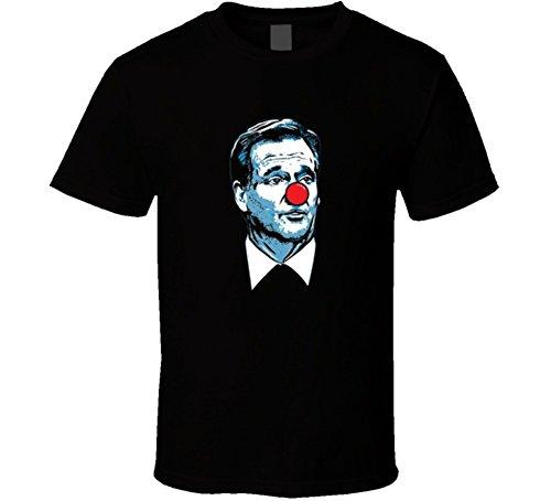 Roger Goodell Bozo The Clown T Shirt Xl Black