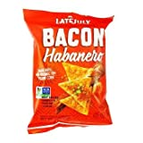 snyders corn - Late July Corn Chips 6/2 Oz Bacon Hbnero