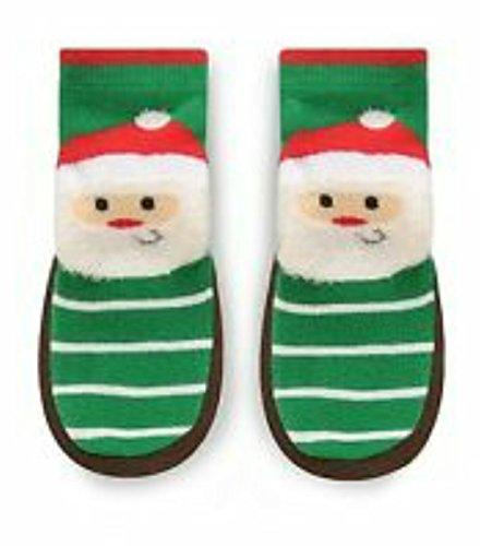 Jumping Beans Santa indoor slipper socks