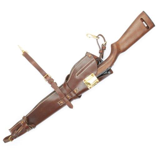 U.S. WWII M1 Carbine Leather Scabbard Holster- US Carbine, Caliber .30