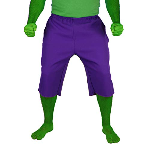 The Incredible Hulk Shorts Purple (L/XL 36-38)