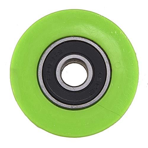 PRO CAKEN Chain Roller Pulley Slider Tensioner Wheel Guide for Pit Dirt Mini Bike 8mm (Green)