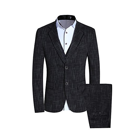 2 Piece Pinstripe Suit - 6