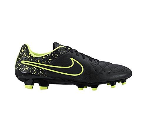 calcio Genio Nike Yellow Leather da Scarpe Uomo FG Tiempo Black OHq0SH
