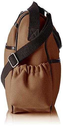 Velours Bags4Less Braun Wickeltasche sac camel bandoulière wrzIxgzqY
