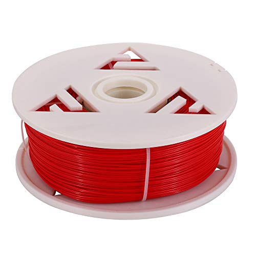 3D Solutech See Through Red 3D Printer PLA Filament 1.75MM Filament Dimensional