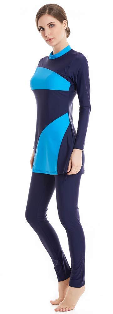 TianMai Nuovo Musulmano Costumi da bagno per Donne islamico Hijab Modesto Costume da bagno Pieno Copertina Nuoto Beachwear Nuotare Completo da uomo Costume