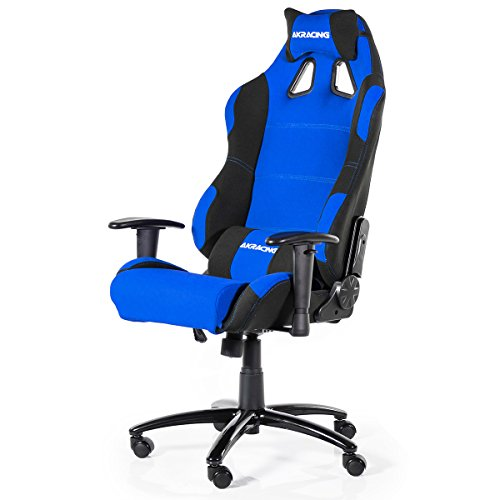 AKRacing Prime K7018 Gaming Chair, Fabric, Black/Red