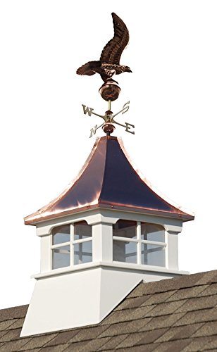 Accentua Charleston Cupola with Eagle Weathervane by Accentua