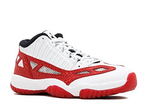 Nike Air Jordan 11 Retro Low IE Men's Basketball Shoes White/Gym Red