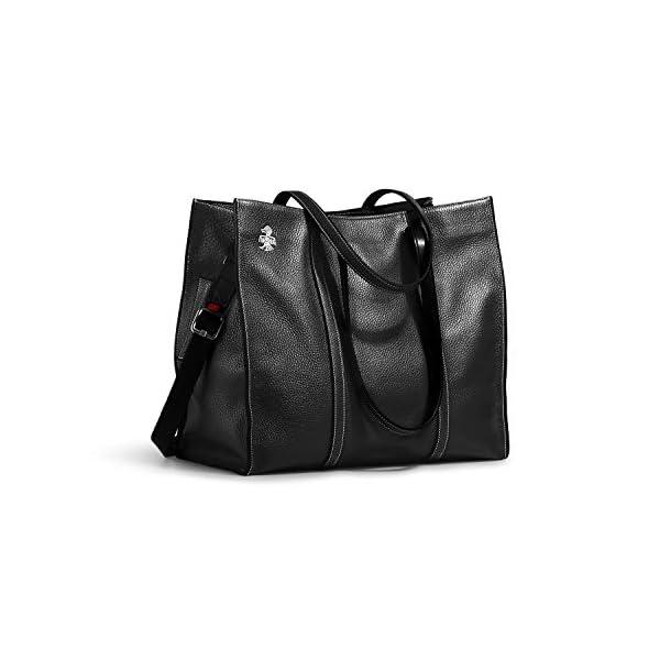 Orabird Casual Women's Black Tote Bag 1