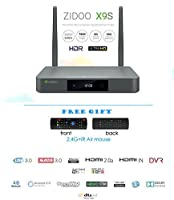 Zidoo X9S Android TV Box Android 6.0 Quad Core 2G/16G Dual Band WIFI 1000Mbps LAN HDR USB3.0 HDMI IN Recoder SATA 3.0 Bluetooth media player