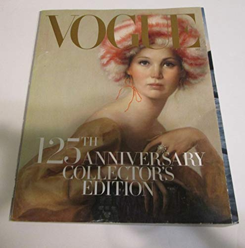 Vogue Magazine - 125th Anniversary Collector's Edition - Jennifer Lawrence Cover - SEPT ()